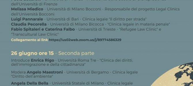 """Seminario """"Le nuove esperienze cliniche tra Public Engagement e responsabilità sociale: problemi e prospettive"""""""