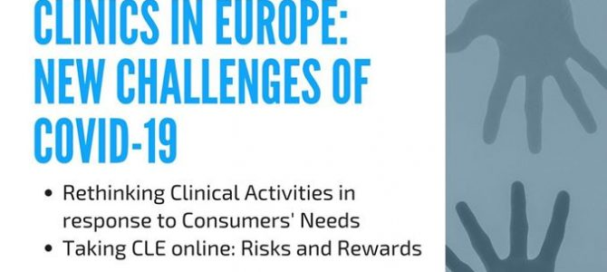 Consumer Law Clinics in Europe: new challenges of Covid-19